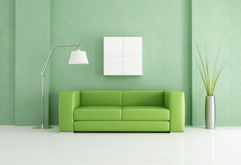 Zöld a nappaliban